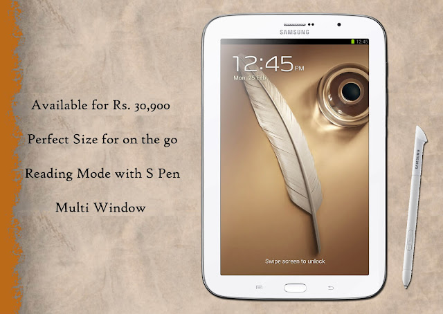 galaxy tab 510 for rs 30,900
