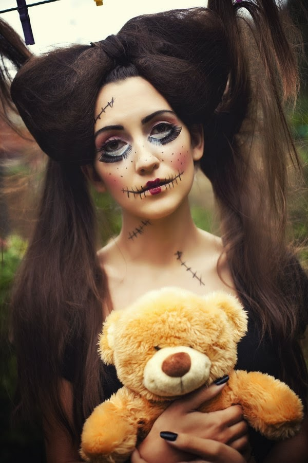 hair mua birmingham, photographer birmingham, sabina yunusova, alexandra belova polyak, galina thomas, halloween makeup ideas, halloween makeup tutorial, halloween makeup rag doll, scary makeup, макияж на хэллоувин, идеи макияжа хэллоувин, пошаговый макияж на хэллоувин