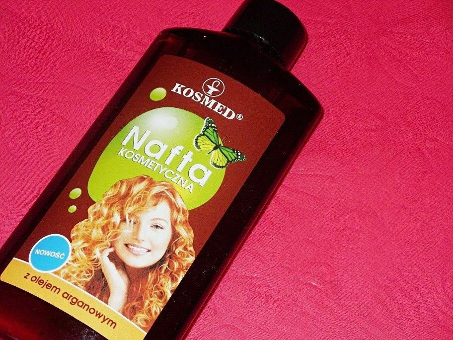 Recenzja: Nafta kosmetyczna z olejem arganowym, Kosmed