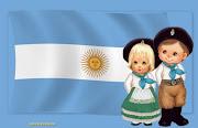 Salve, argentina, bandera azul y blanca, jirón del cielo en donde reina el . bandera argentina