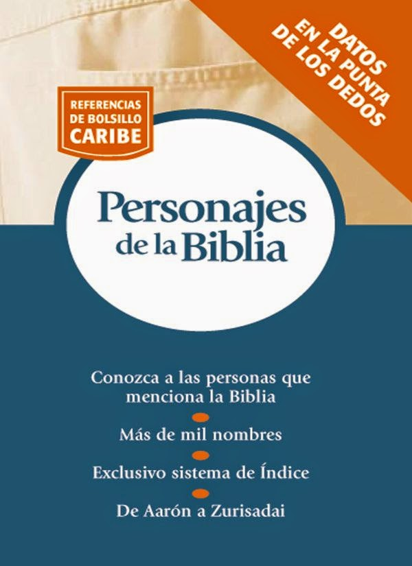 Referencia De Bolsillo Caribe-Personajes De La Biblia-