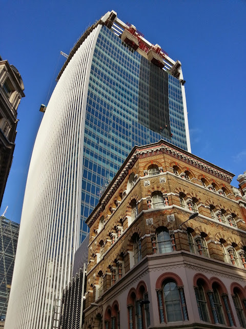 It's curtains for 20 Fenchurch Street!