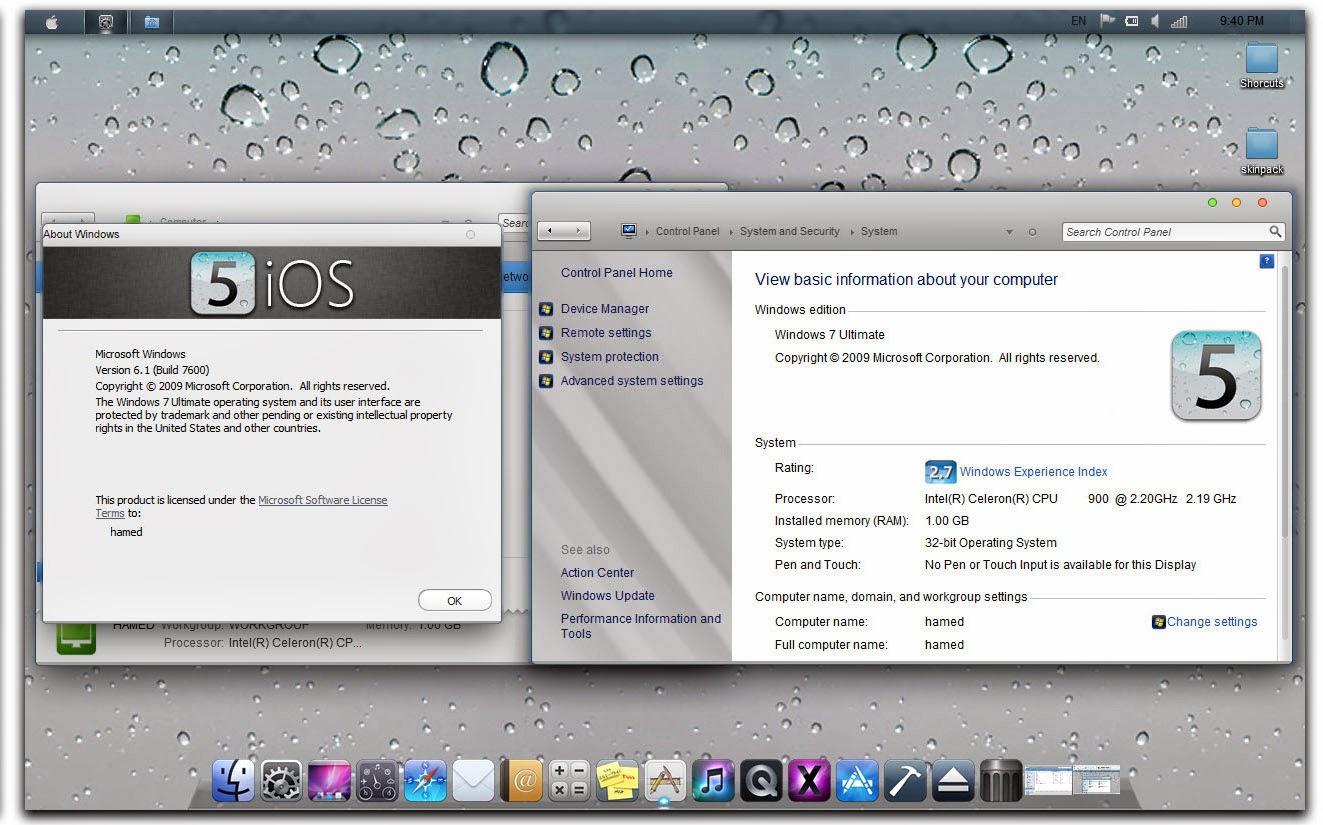 Скачать ios на компьютер windows 7