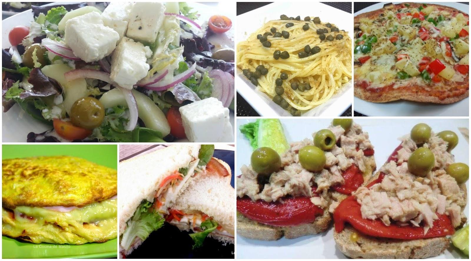 Cocina f cil ideas para cenar f cil y rico - Comidas para cenar rapidas ...