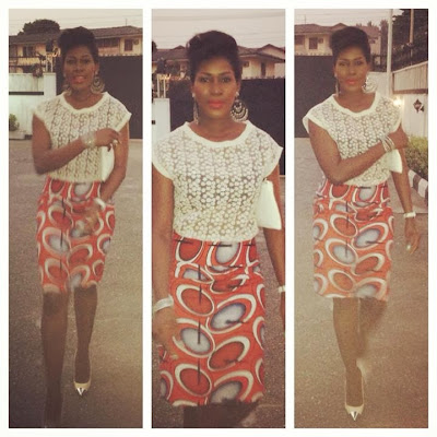 Photo of Stephanie Okereke's new pics