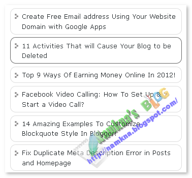 Tùy chỉnh Popular Posts đơn giản của blogger/blogspot