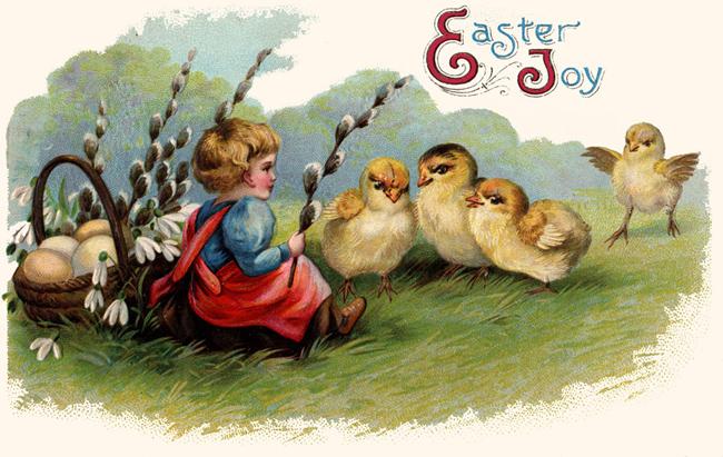 Bytes Vintage Easter Cards – Vintage Easter Cards