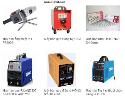 Tổng hợp các thiết bị ngành Hàn nhất trong tháng