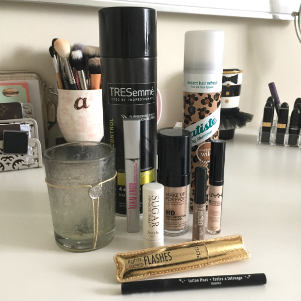 products I've used up, empties, beauty favorites, mascara, batiste, beauty review, makeup, makeup review, tart review, eyeliner review, foundation review, MUFE HD foundation