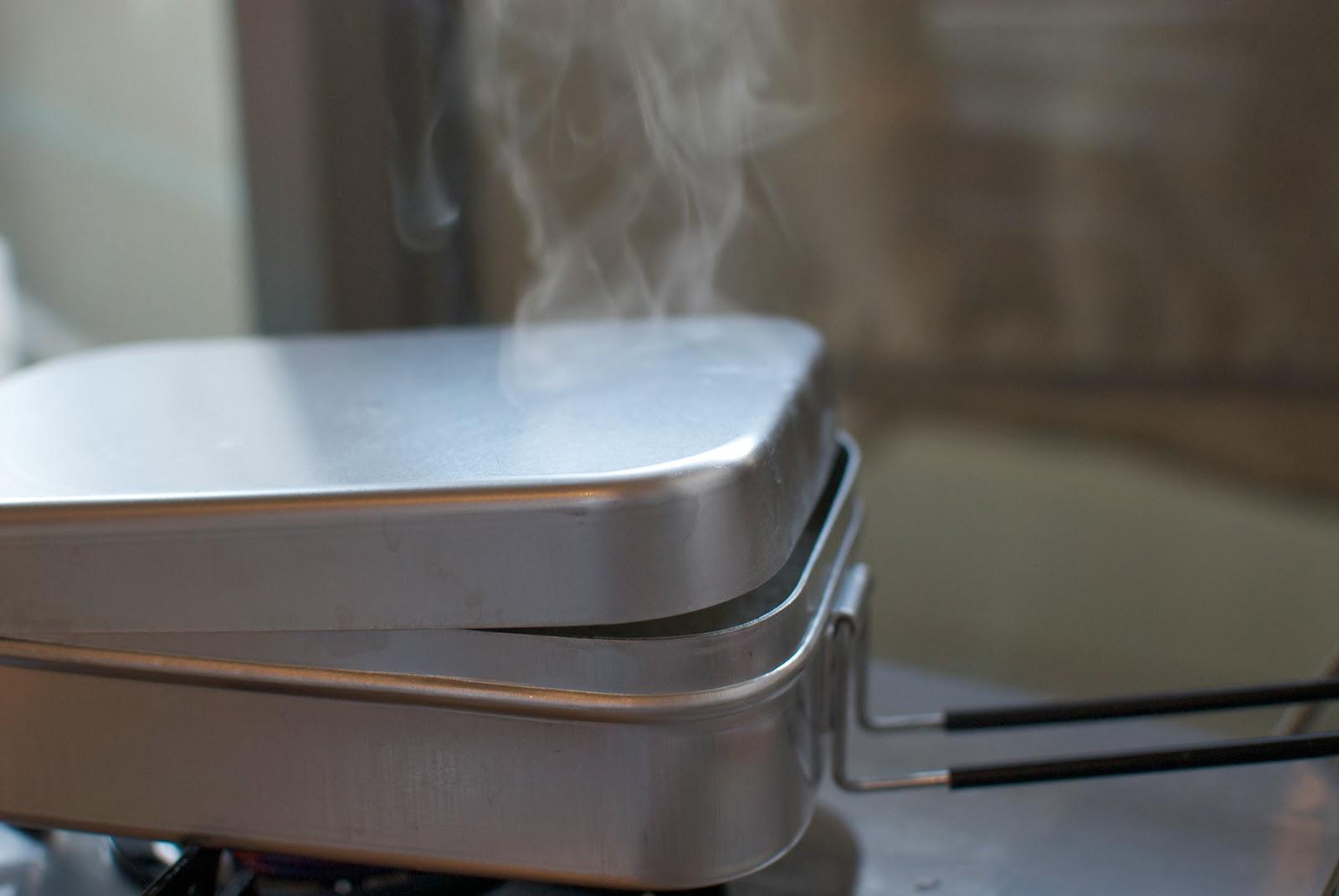 トランギア ラージメスティン 3合 炊飯