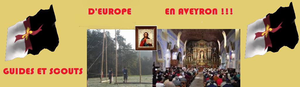 Scouts d'Europe en Aveyron