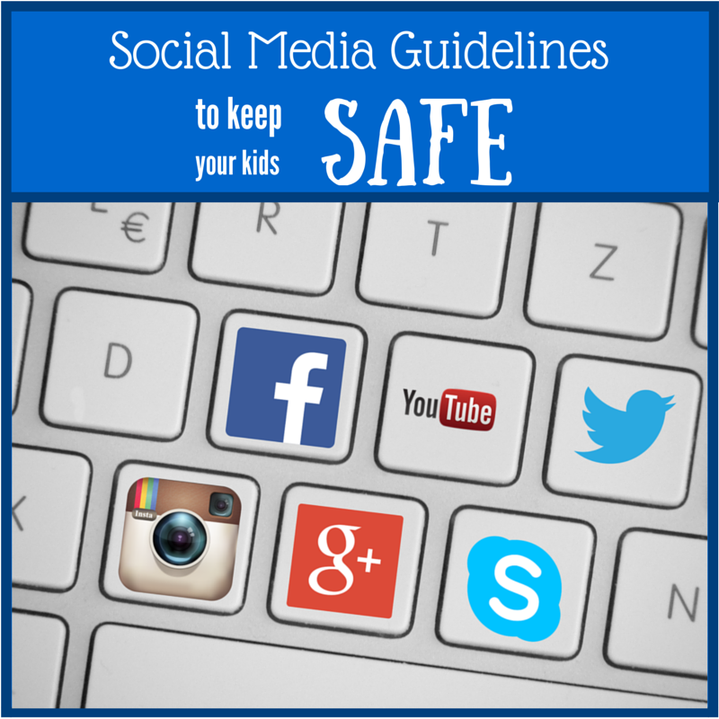 Media Guidelines For Kids Of All Ages >> Social Media Guidelines To Keep Your Kids Safe Annmarie John