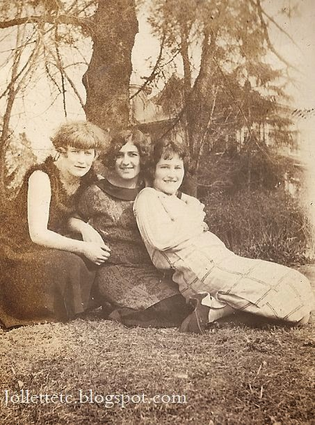 Thelma Hockman, Leta LeVow, Velma Davis 1924-25