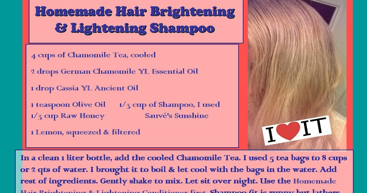 Anointed With Oil Hair Brightening Amp Lightening Shampoo
