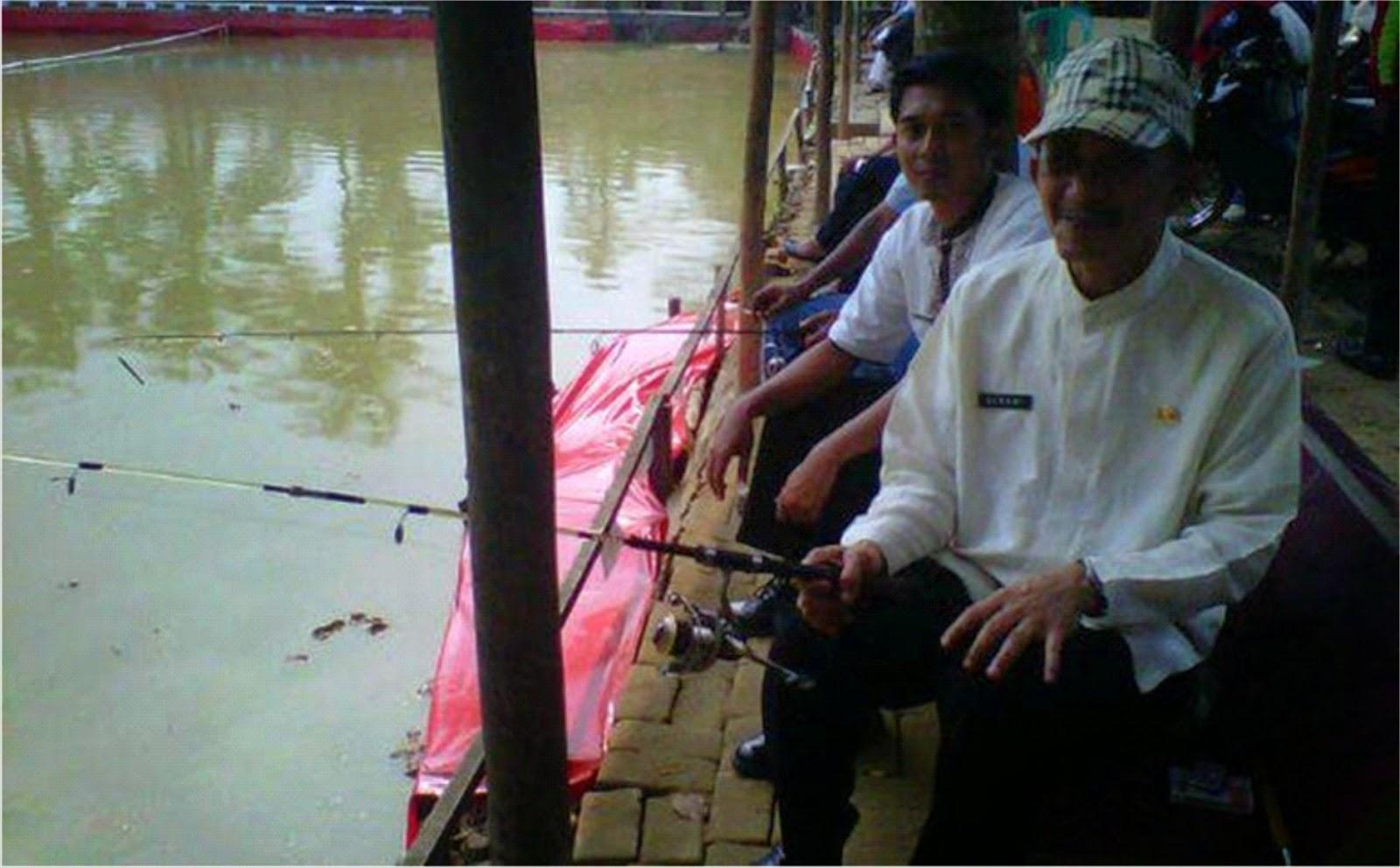 Walikota Buka Lomba Memancing Ikan Air Tawar