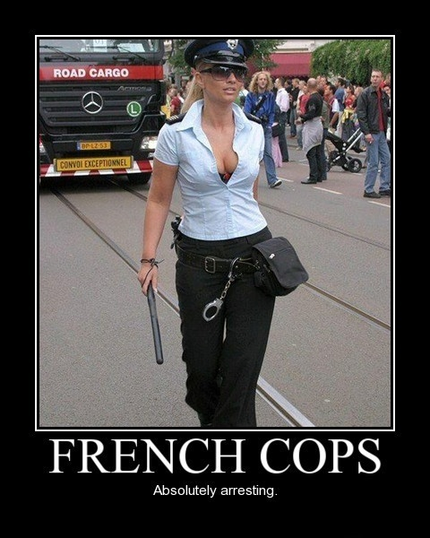 French Cops - Absolutely Arresting