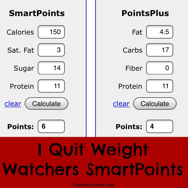 Weight Watchers Smartpoints Berechnen 2016 : the kerrie show january 2016 ~ Themetempest.com Abrechnung