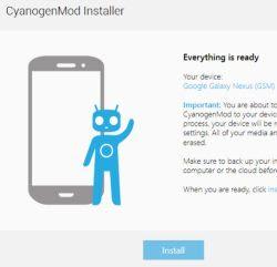 installare CyanogenMod Android da PC