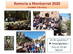 ROMERIA A MONTSERRAT 2020. DIDDABTE 7 DE MARÇ