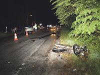 kecelakaan jalan raya di Sabak Bernam