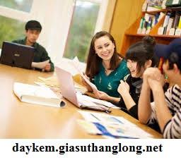 Gia sư dạy kèm anh văn tại hcm của trung tâm Thăng Long