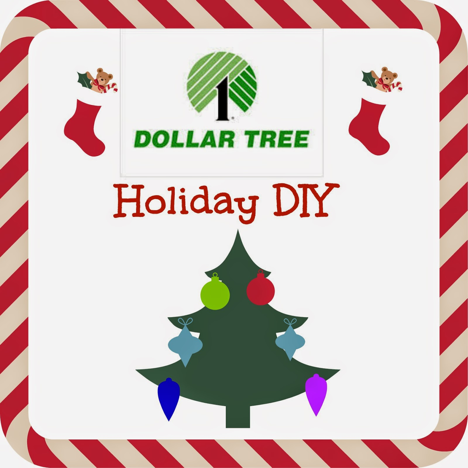 Festive Holiday DIY Inspiration from #DollarTree - Mommy\'s Block Party