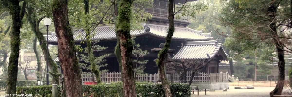 Templo Shofukuji de Fukuoka