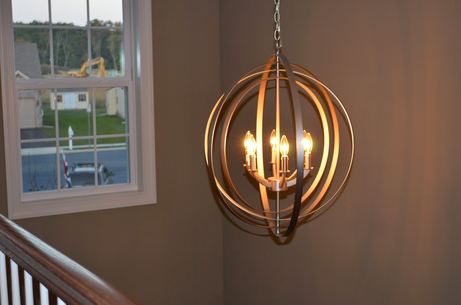 Foyer Lighting Story : House in the heights parade of homes recap