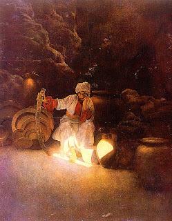 Combien y avait-il de voleurs dans l'histoire d'Ali Baba  prizee