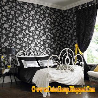Cool Living: Elegant B/W Bedrooms