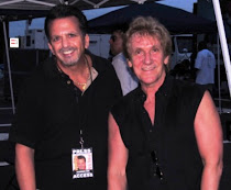 John Cafferty with Ray