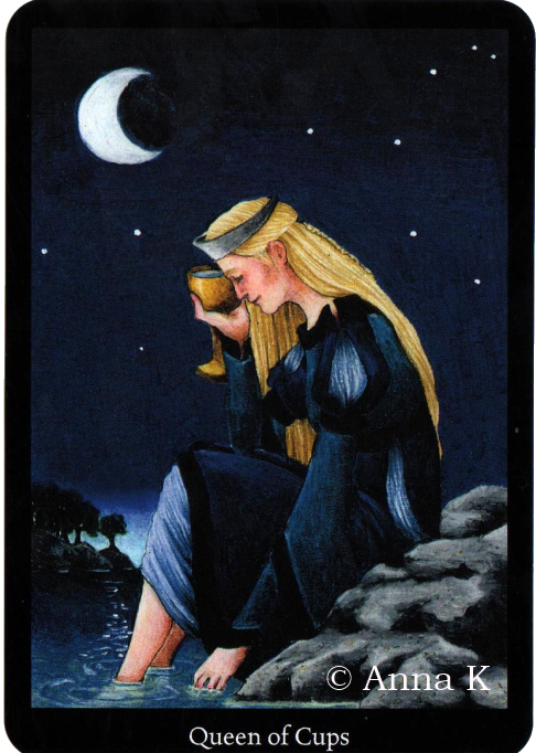 Anna K Tarot Queen of Cups