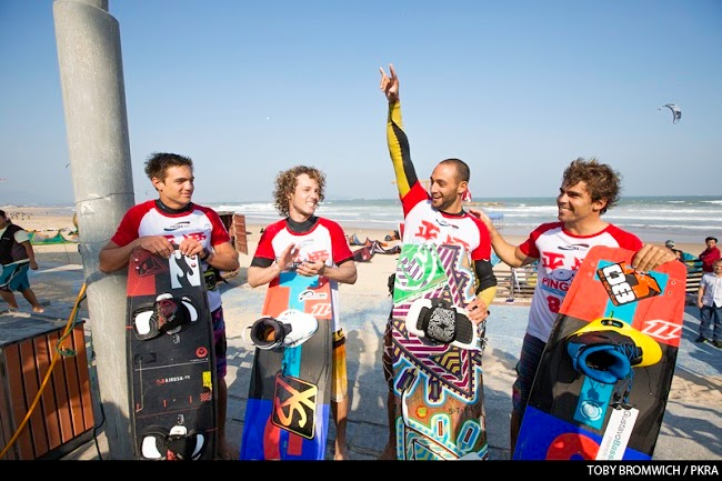 4 kiteboarding winners