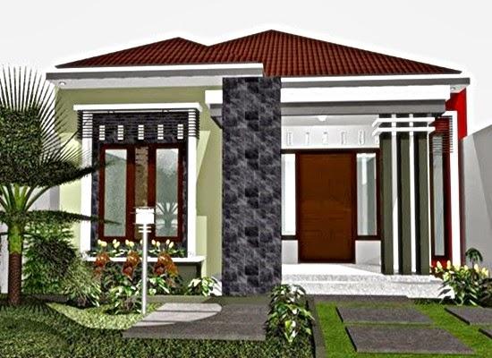 contoh depan rumah minimalis