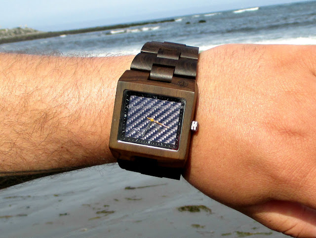 jord delmar blue wood watch review