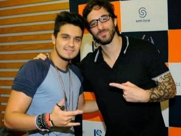 """Rafinha Bastos grava seu primeiro """"Agora É Tarde"""" com Luan Santana"""