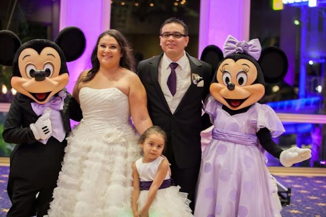 Disney Wedding Inspiration: Real Disney Weddings - Cynthia and Israel // Photo by White Rabbit Photo Boutique