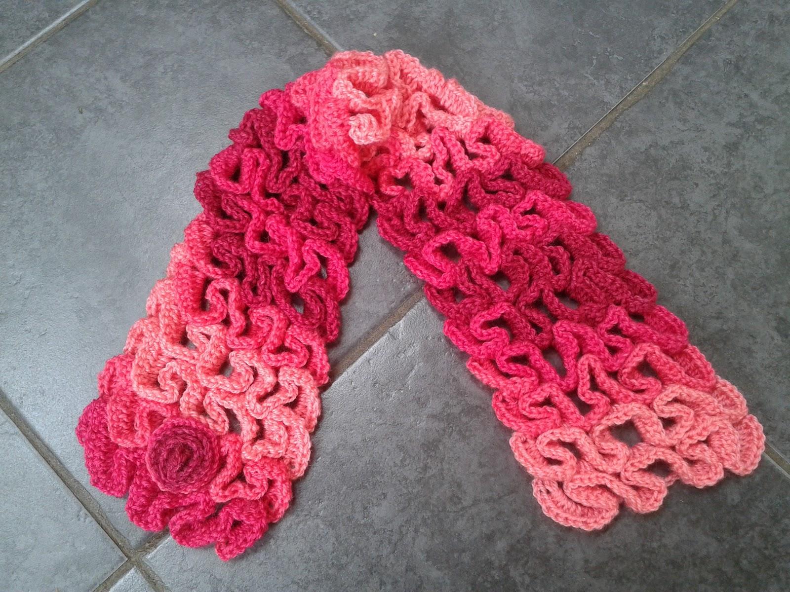 Lolly\'s Crafty Crochet: The \'Snake\' Stitch
