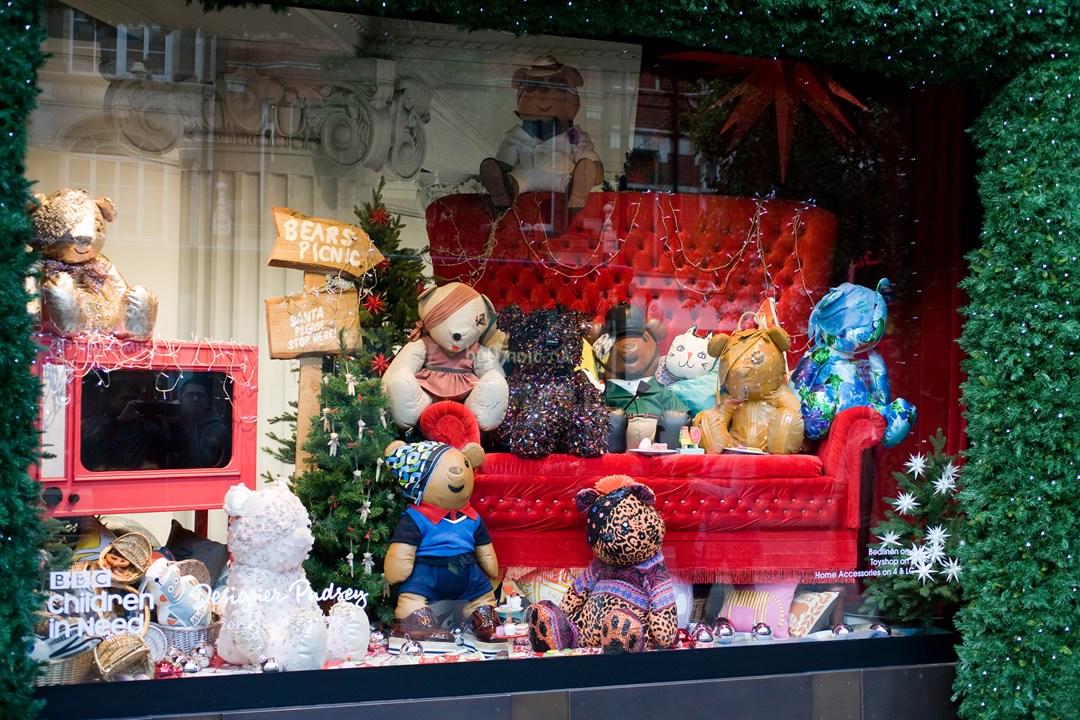 Подарки на рождество в лондоне