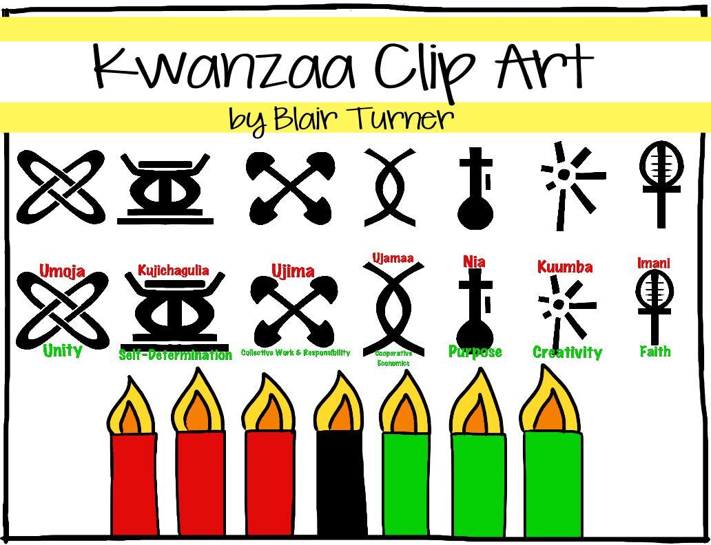 Seven Principles Kwanzaa Clipart