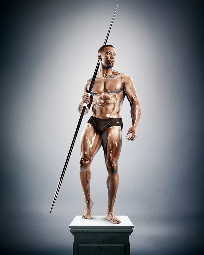 Sculpture Athletes | Tim Tadder and Cristian Girotto
