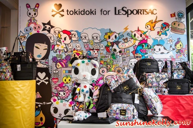 tokidoki for LeSportsac Fall 2014 Collection, tokidoki, lesportsac, tokidoki haage-dazs, autumn winter 2014 collection