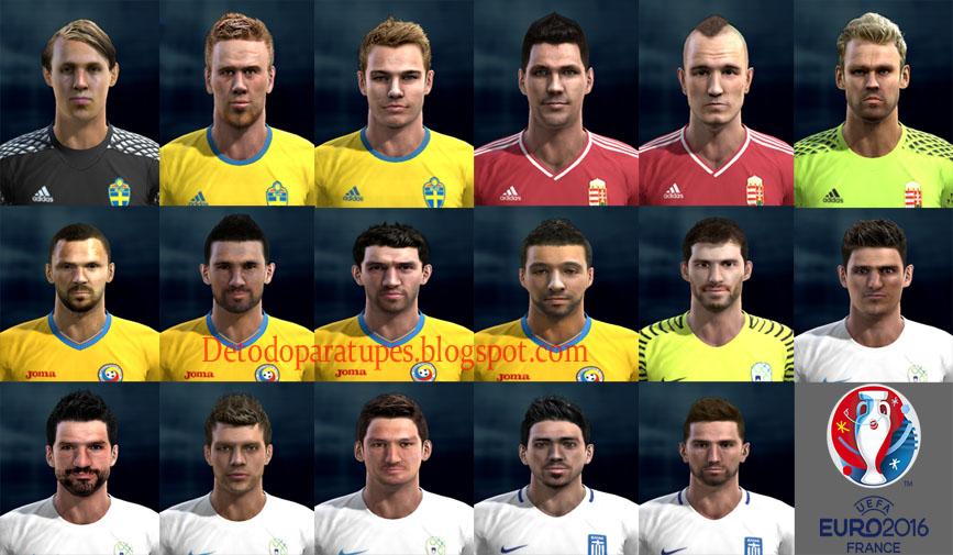 Pes 2013 Facepack x1 Euro 2016