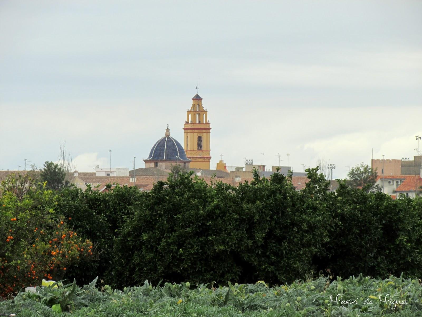 Albalat dels Sorells desde Mahuella