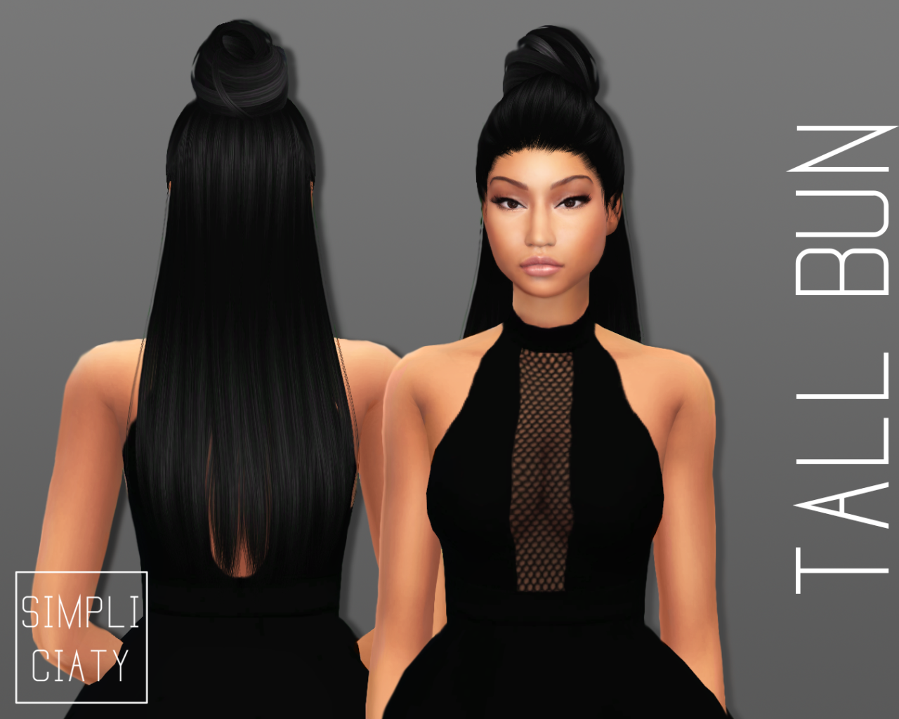 Sims 4 Cc S The Best Accessory Hair Buns By Simpliciaty