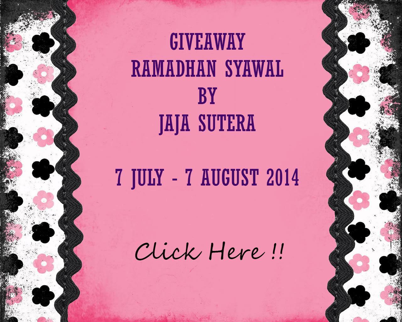 GiveAway Ramadhan Syawal by Jaja Sutera