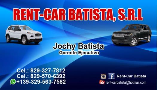 RENT-CAR BATISTA, S.R.L