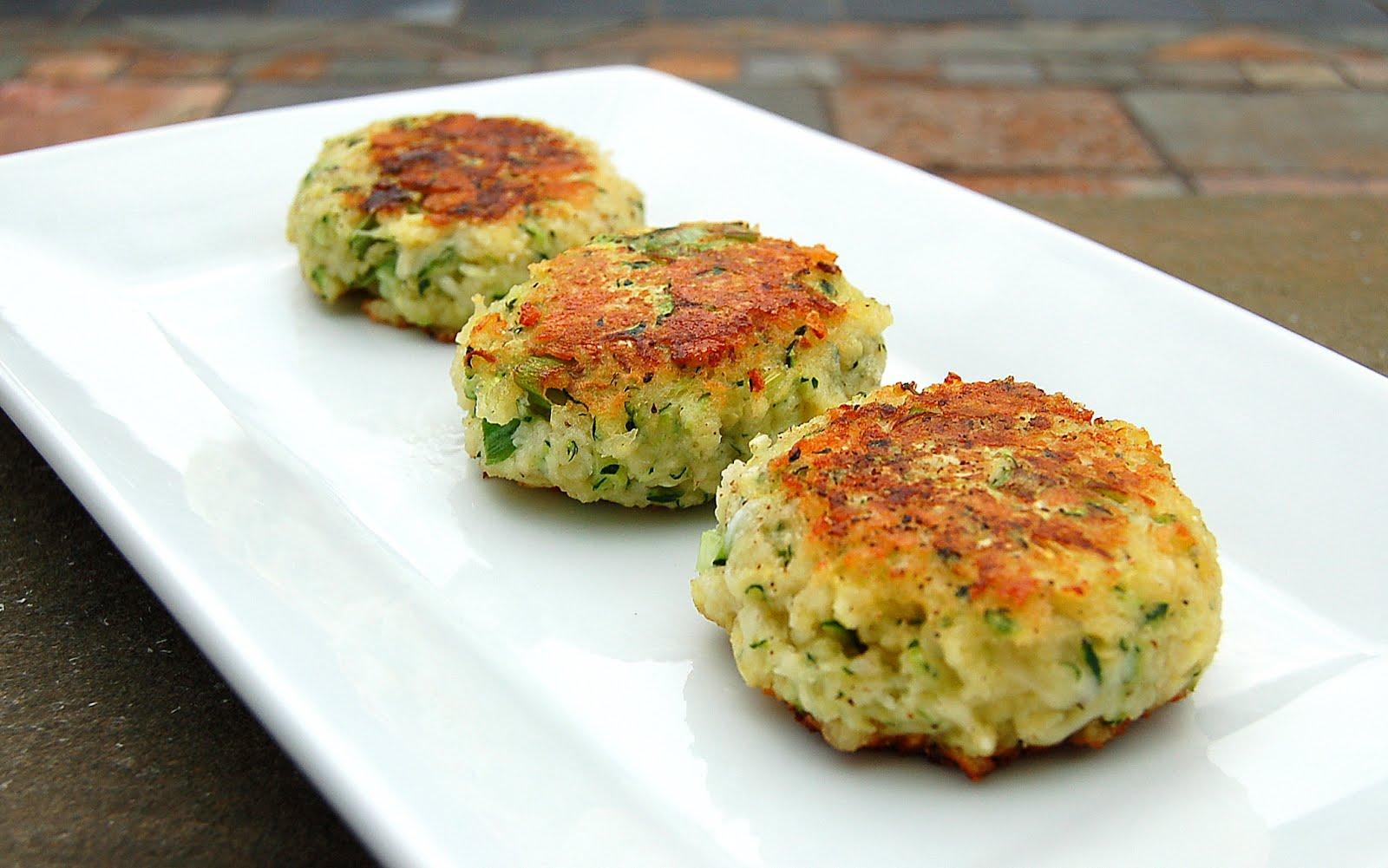 Souffle Bombay: Zucchini Parmesan Cakes