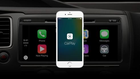 iOS 9 Car Play