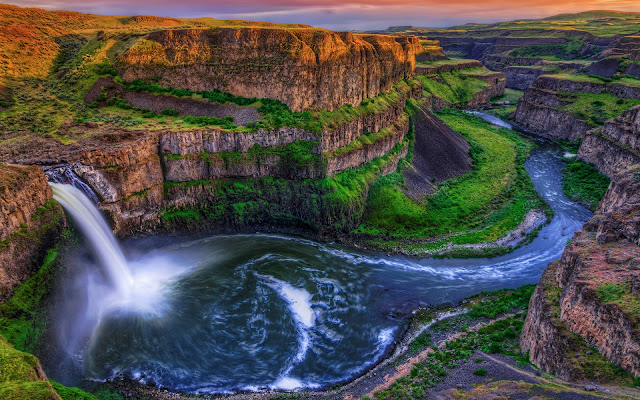 Las Cataratas del Palouse - Washington, Estados Unidos